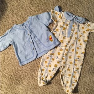 3-6 months Winnie the Pooh Outfit